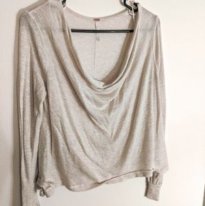 Free People sparkling top